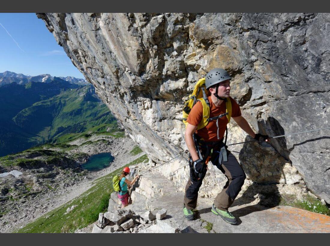 Praxistest in den Alpen: Bergschuhe  13