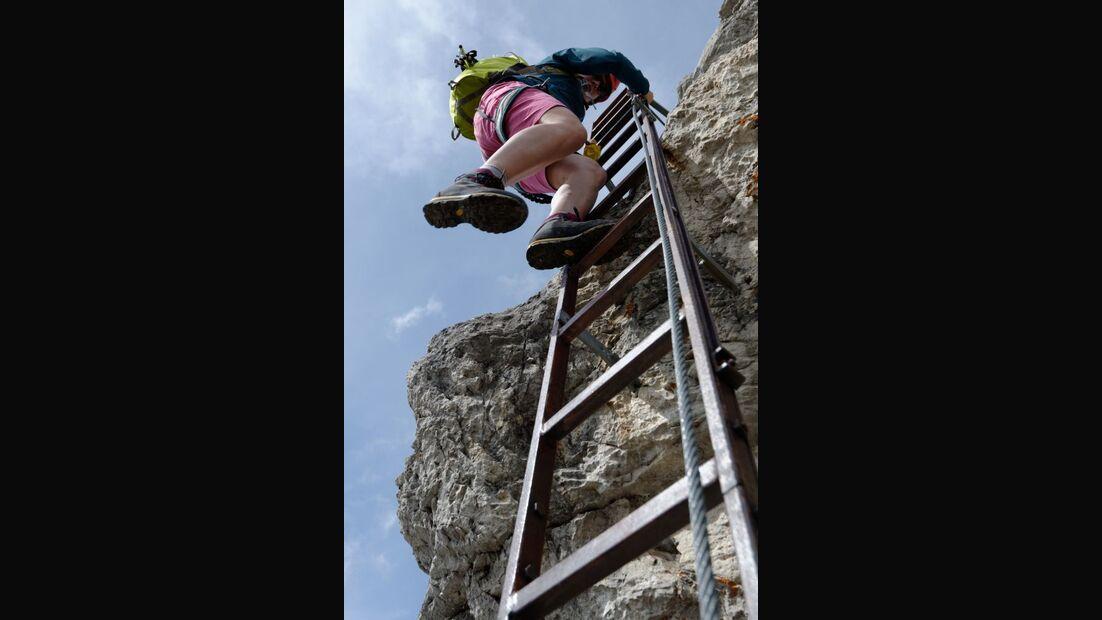 Praxistest in den Alpen: Bergschuhe  16