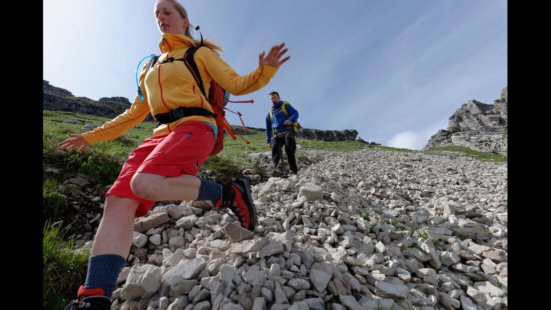Praxistest in den Alpen: Bergschuhe  22