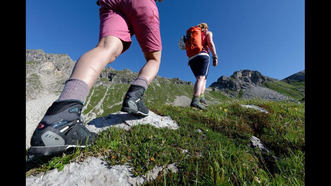 Praxistest in den Alpen: Bergschuhe  25