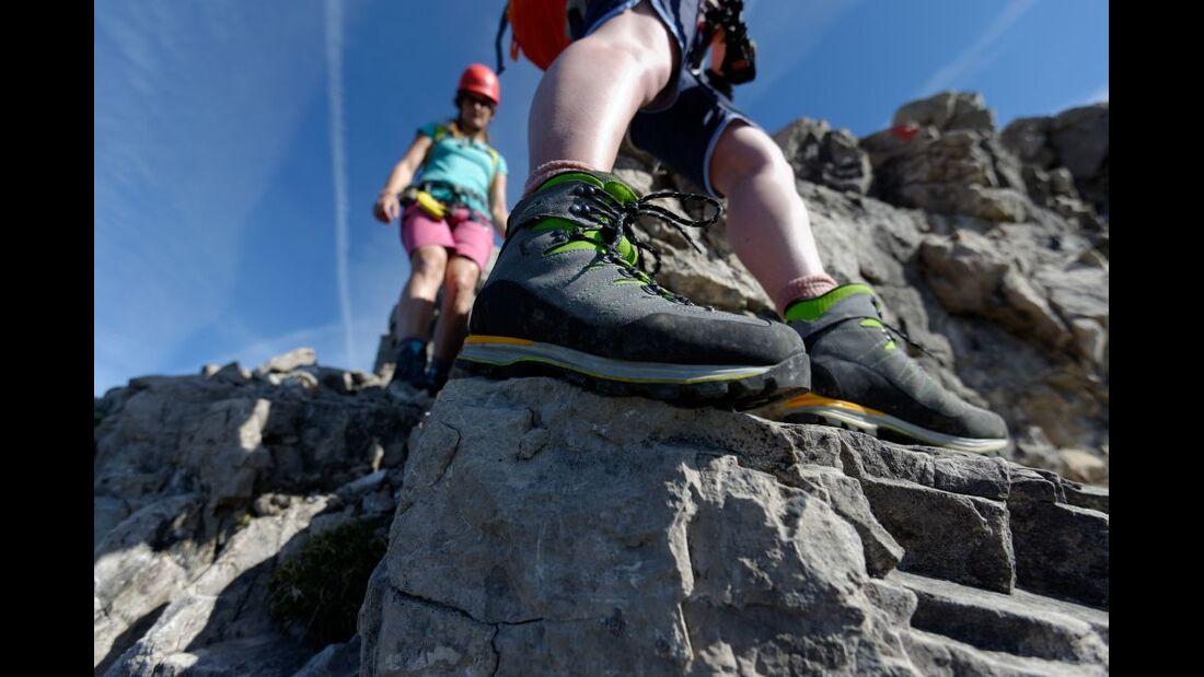 Praxistest in den Alpen: Bergschuhe  29