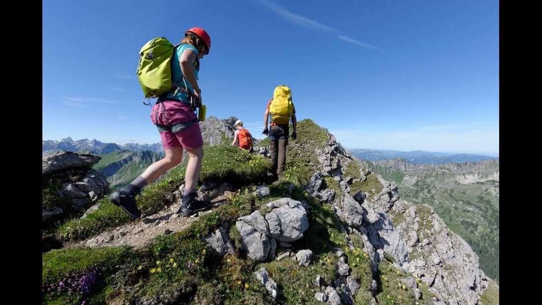 Praxistest in den Alpen: Bergschuhe  36