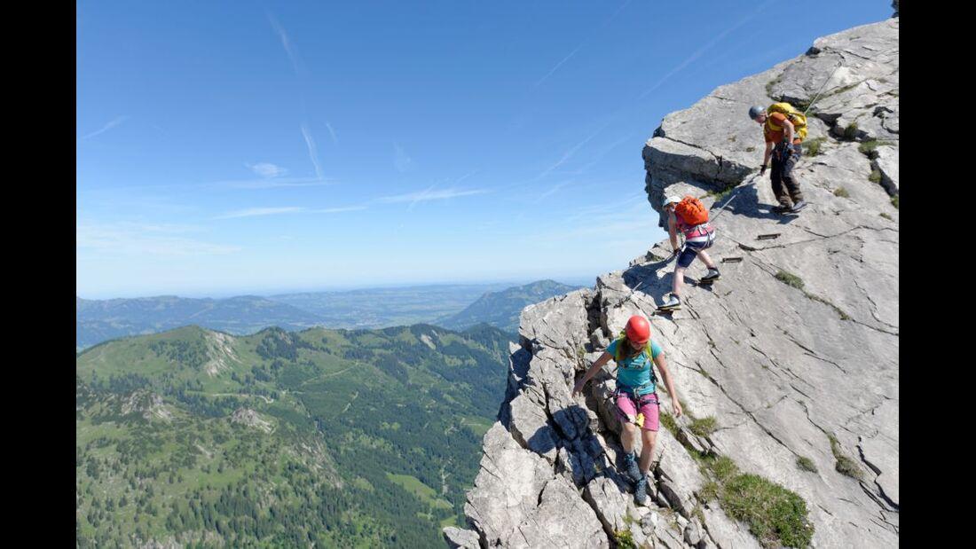 Praxistest in den Alpen: Bergschuhe  37