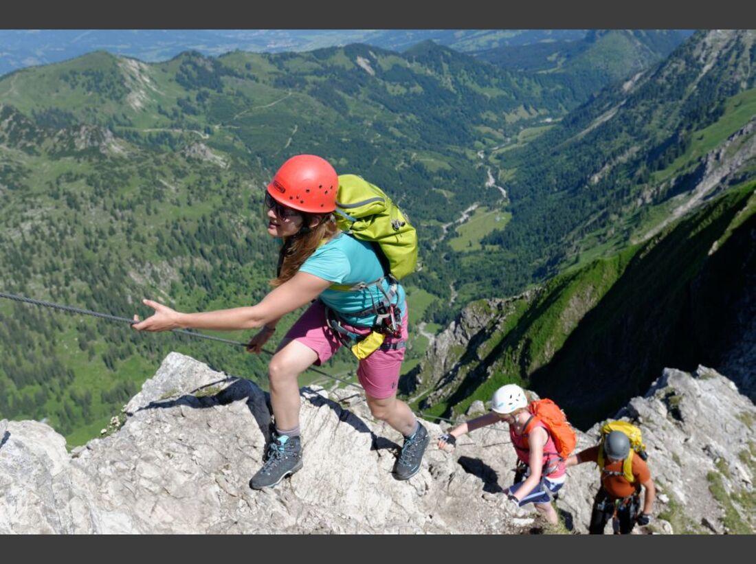 Praxistest in den Alpen: Bergschuhe  38