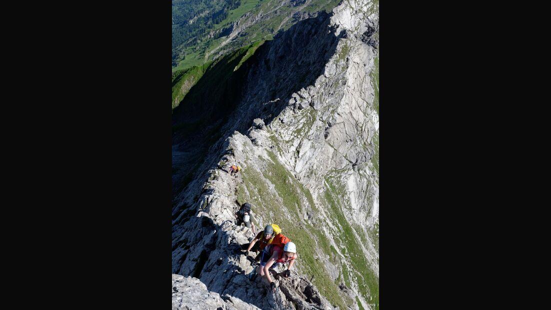 Praxistest in den Alpen: Bergschuhe  39