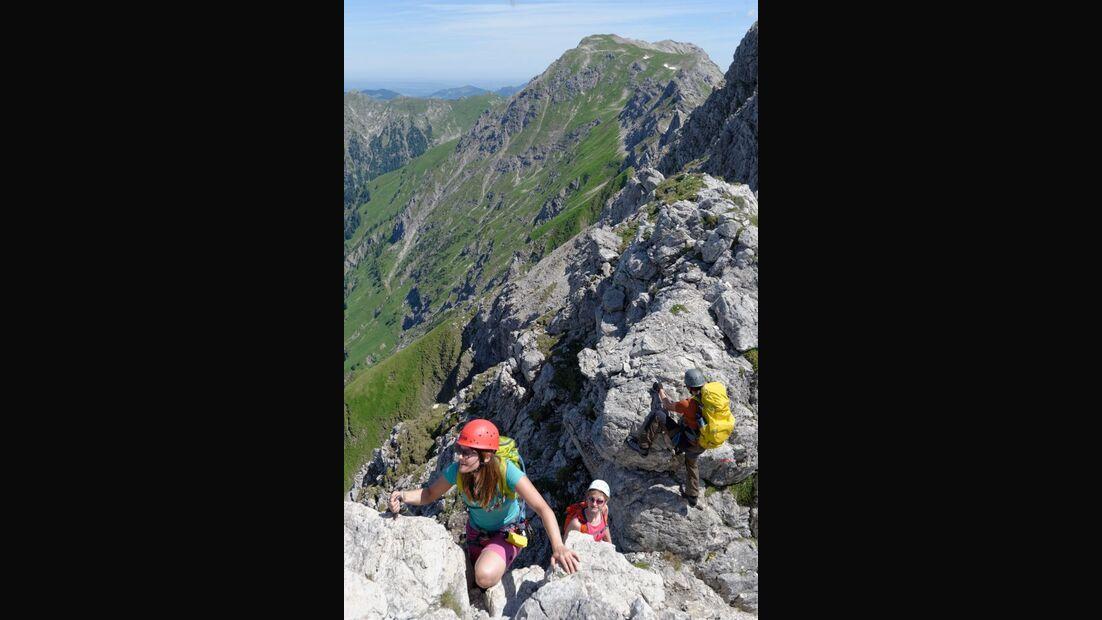 Praxistest in den Alpen: Bergschuhe  41