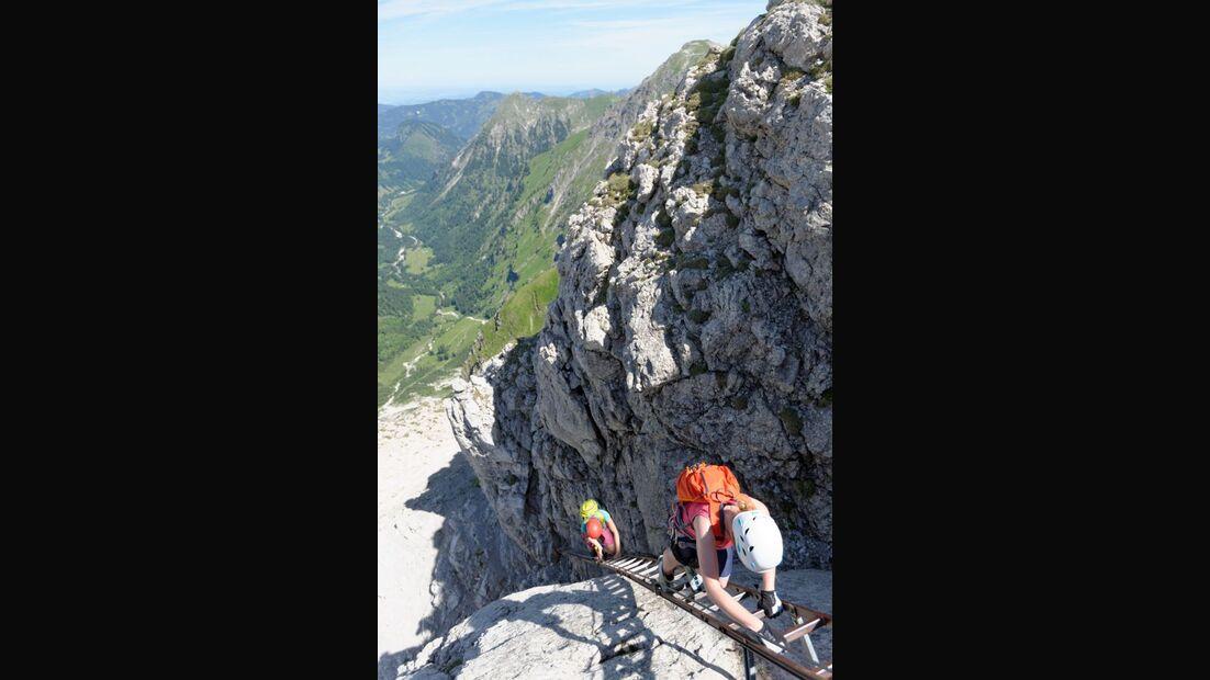 Praxistest in den Alpen: Bergschuhe  42
