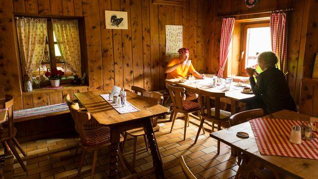 Pühringer Hütte, im steirischen Salzkammergut