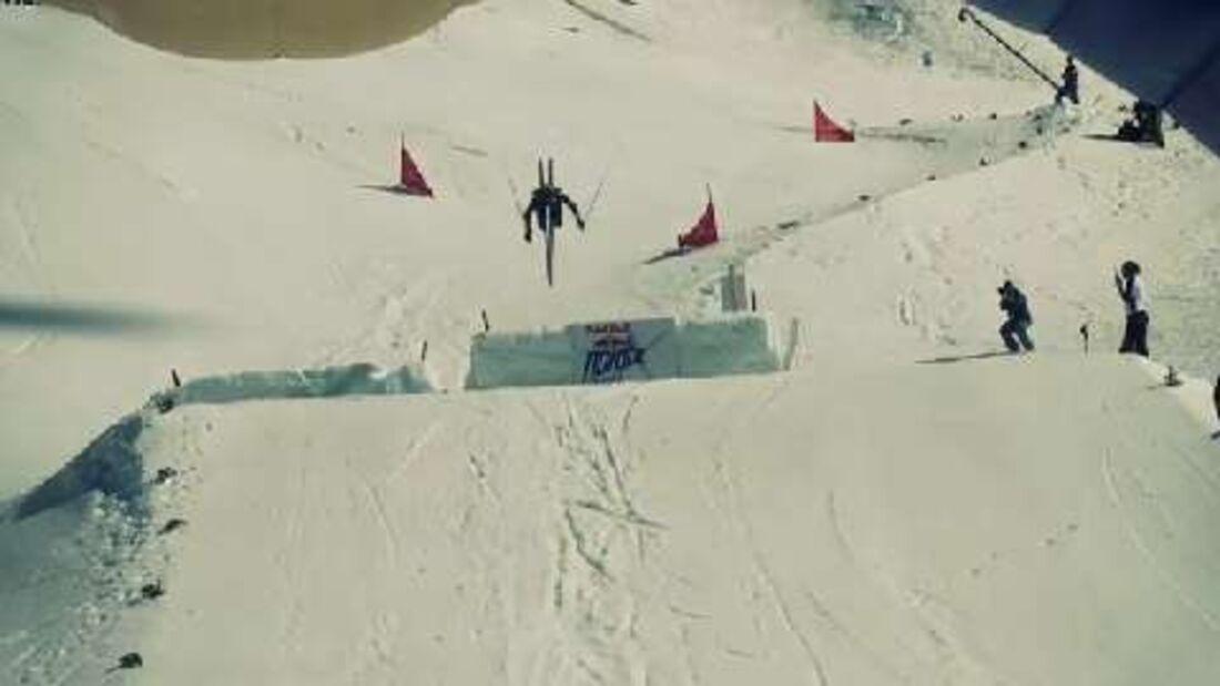 Red Bull Nordix: Die weltbesten Langläufer kurven durch die Halfpipe, fliegen durch die Luft und sprinten den Davoser Bolgen hoch und runter