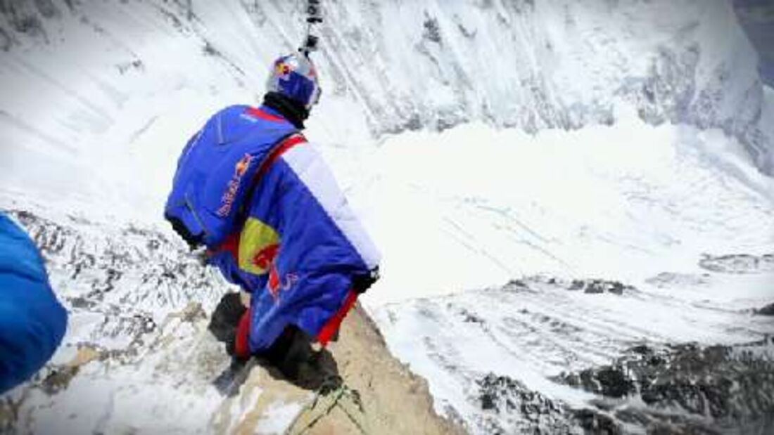 Red Bull Valery Rozov Mount Everest