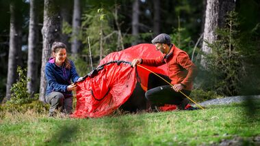 Reisereportage Heft 05/2021: Trekkingcamp Frankenwald