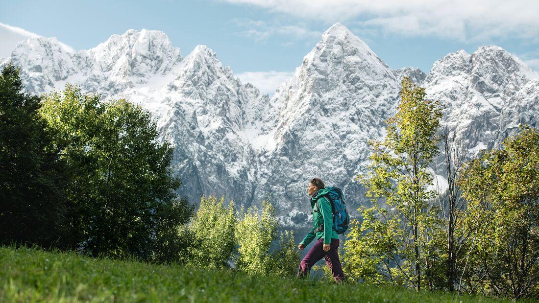 Reisereportage Slowenien Juliana Trail, Heft 06/2021