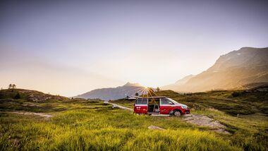 Roadsurfer bietet private Stellplätze an
