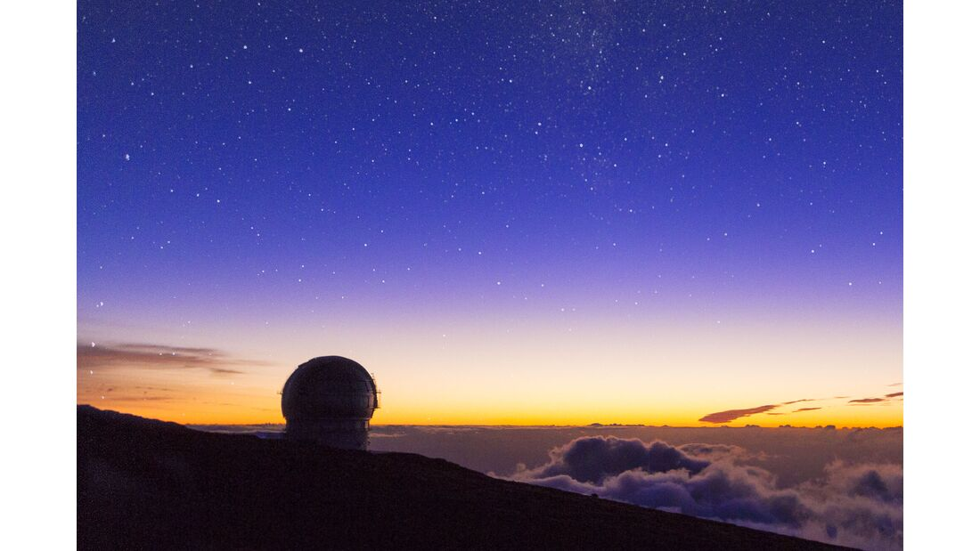 Roque-de-los-Muchachos-Observatorium - La Palma