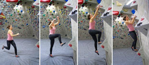 Run-in-Start Renner Bouldern