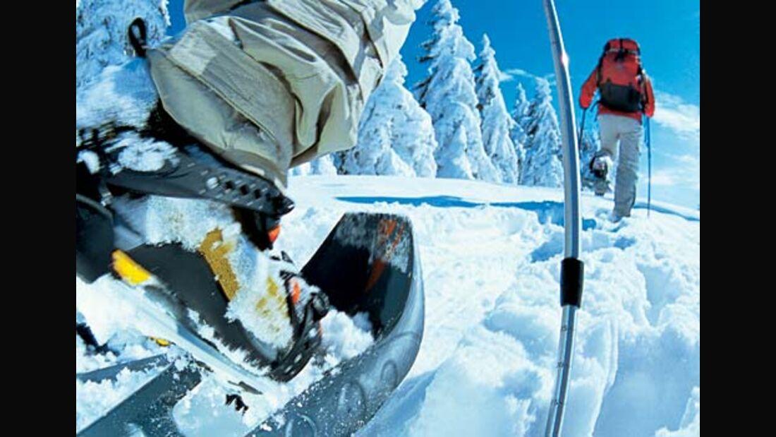Schneeschuh-Touren