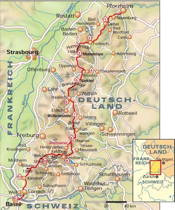 Schwarzwald-Westweg