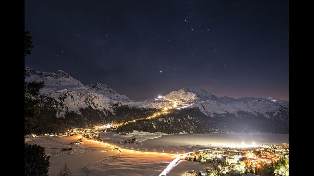 Schweiz Oberengadin - Corvatsch-Snownight