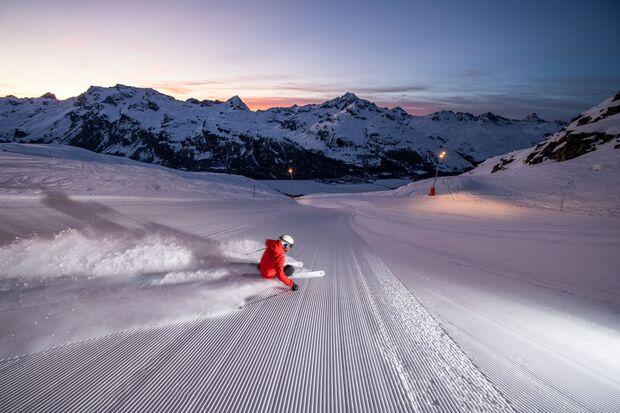 Schweiz Oberengadin Diavolezza Glüna Plaina
