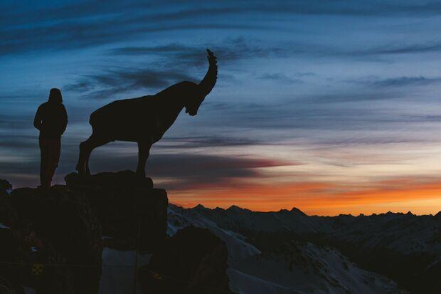Schweiz Oberengadin - Piz Nair