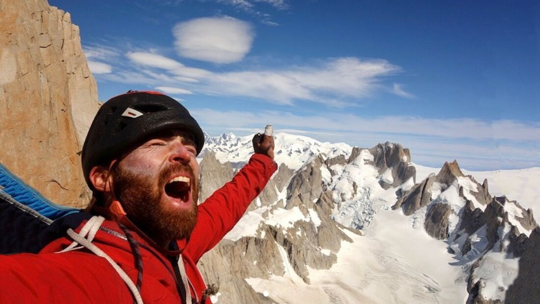 Sean Villanueva O'Driscoll klettert Moonwalk - die Fitz Roy Traverse im Alleingang