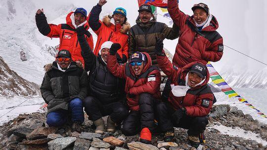 Sherpa-Team schafft erste Winterbesteigung K2
