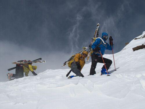 Ski Transalp: Skitour über die Alpen - die besten Fotos