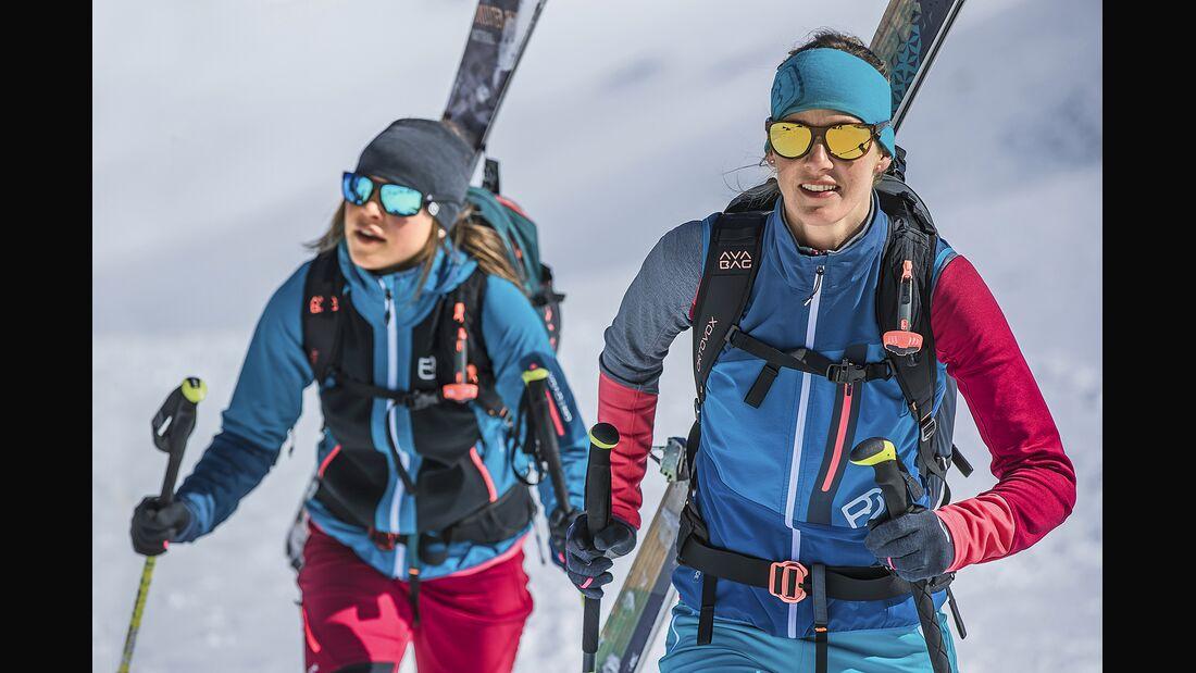 Skitouren Outfit und Equipment