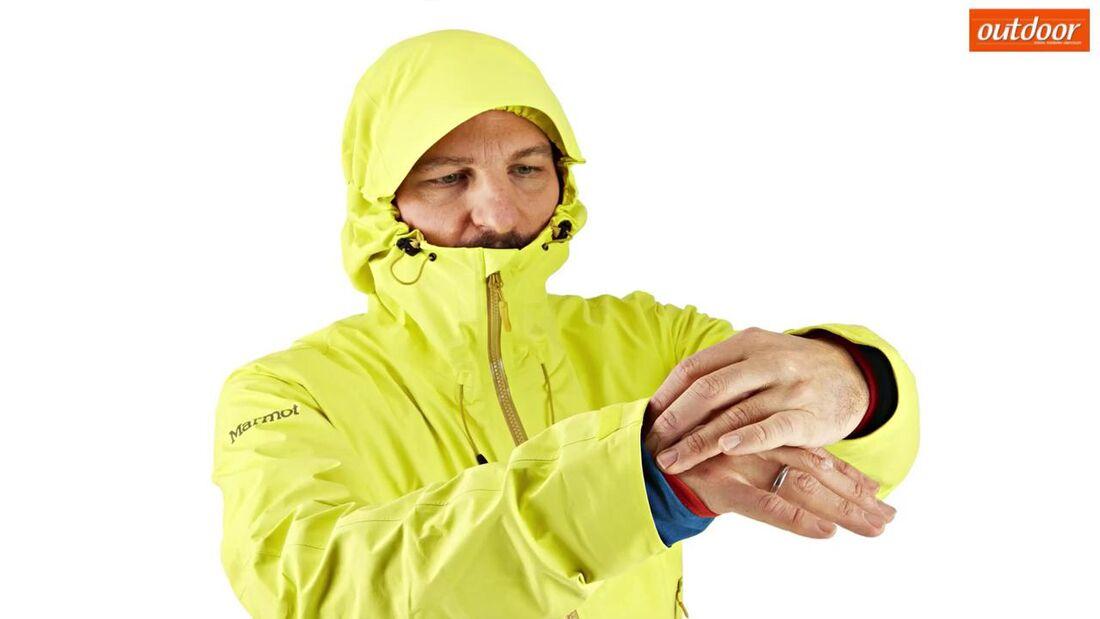 So schützt ihr euch vor Regen & Schnee Nässeschutz Regenschutz