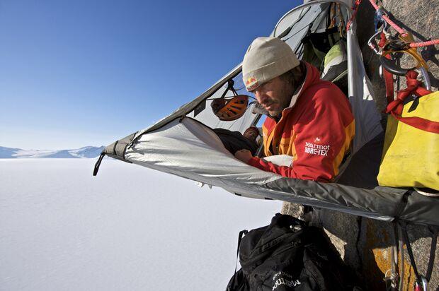 Stefan Glowacz in Baffin Island