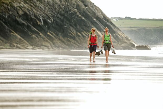 Strand in Wales - Pembrokeshire Coast Path