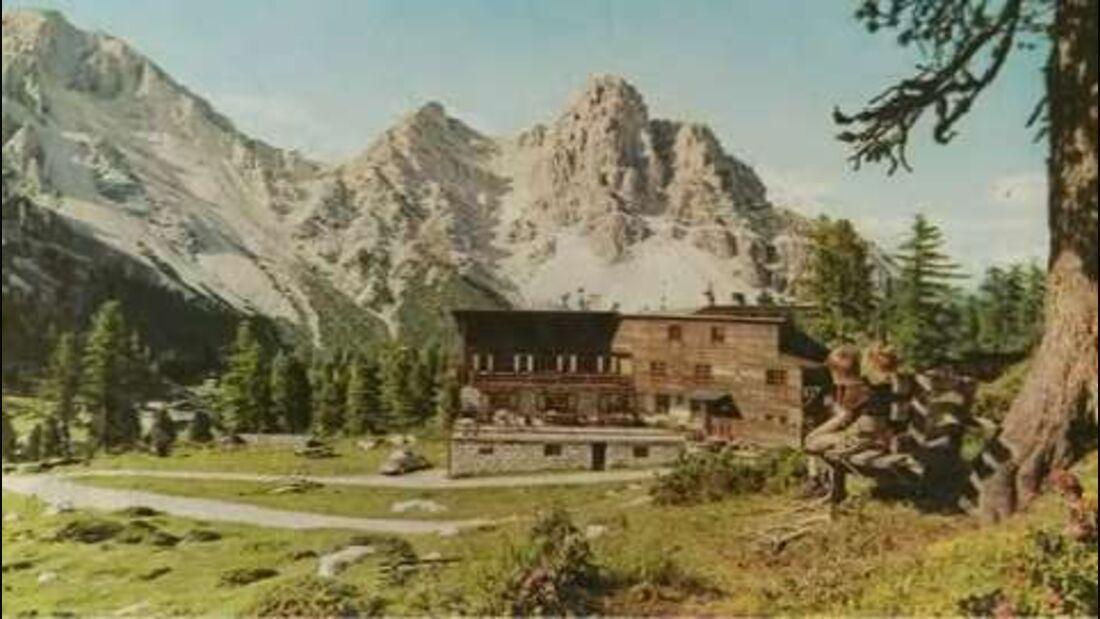 Südtirol: Welterbe Dolomiten - Schutzhütte