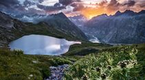 Switzerland  Summer: Guttannen, Grimsel Panorama