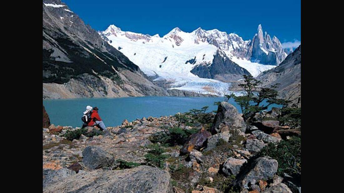 Tagestouren und Treks in Patagonien