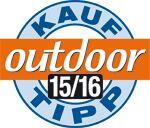 Testsieger-Logo: OD outdoor Kauftipp 2015/2016