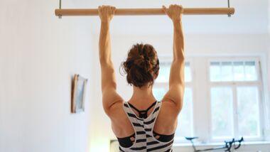 Tipps Schulter fit halten Klettern richtig hängen