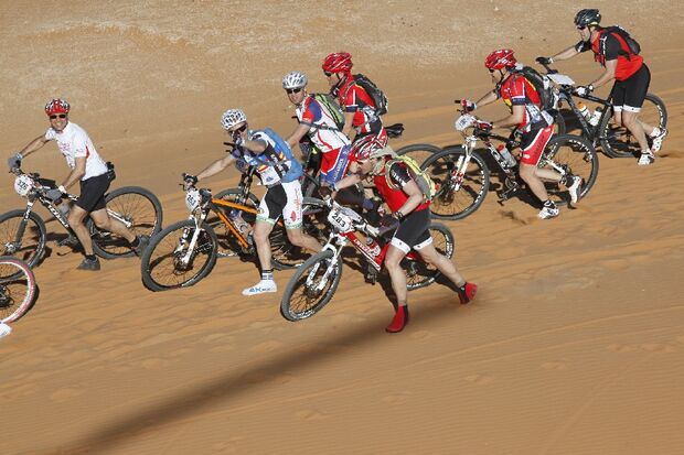 Titan Desert 2012 - knallhartes MTB-Rennen durch Marokko 15