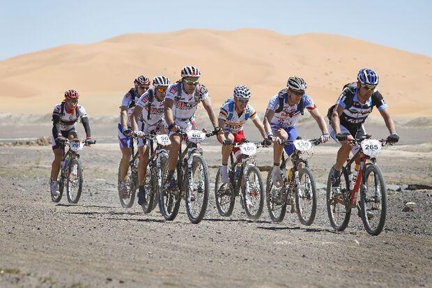 Titan Desert 2012 - knallhartes MTB-Rennen durch Marokko 17
