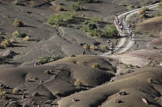 Titan Desert 2012 - knallhartes MTB-Rennen durch Marokko 30