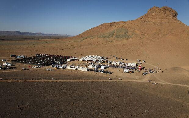 Titan Desert 2012 - knallhartes MTB-Rennen durch Marokko 34