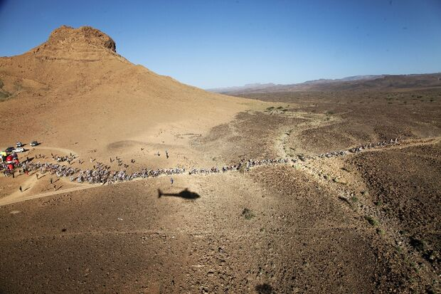 Titan Desert 2012 - knallhartes MTB-Rennen durch Marokko 37