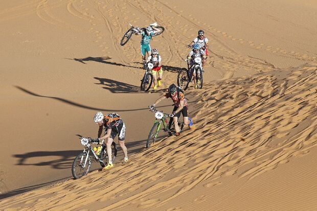 Titan Desert 2012 - knallhartes MTB-Rennen durch Marokko 4