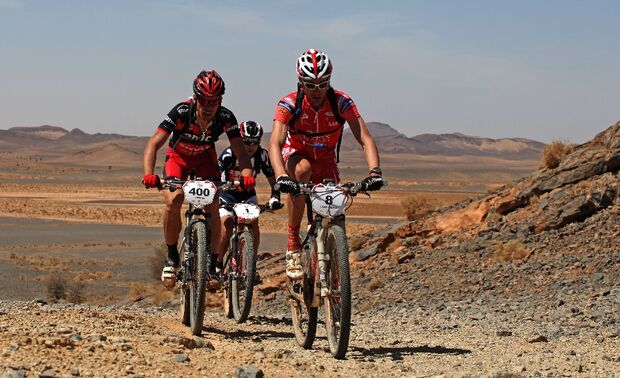 Titan Desert 2012 - knallhartes MTB-Rennen durch Marokko 42