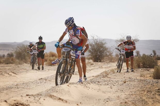 Titan Desert 2012 - knallhartes MTB-Rennen durch Marokko 45