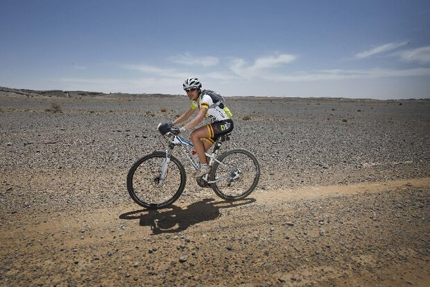 Titan Desert 2012 - knallhartes MTB-Rennen durch Marokko 47