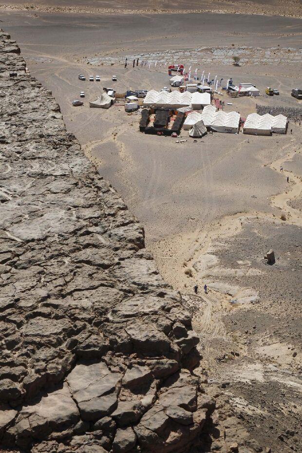Titan Desert 2012 - knallhartes MTB-Rennen durch Marokko 49
