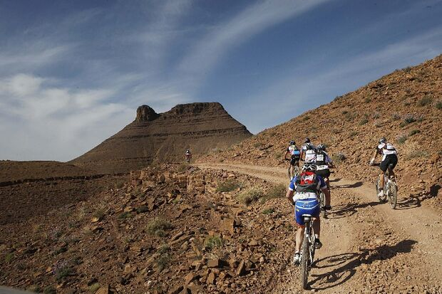 Titan Desert 2012 - knallhartes MTB-Rennen durch Marokko 5
