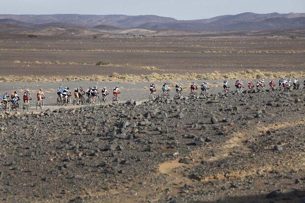 Titan Desert 2012 - knallhartes MTB-Rennen durch Marokko 53