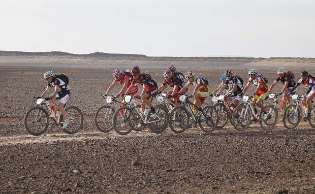 Titan Desert 2012 - knallhartes MTB-Rennen durch Marokko 55