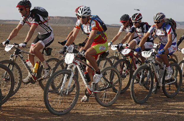 Titan Desert 2012 - knallhartes MTB-Rennen durch Marokko 56
